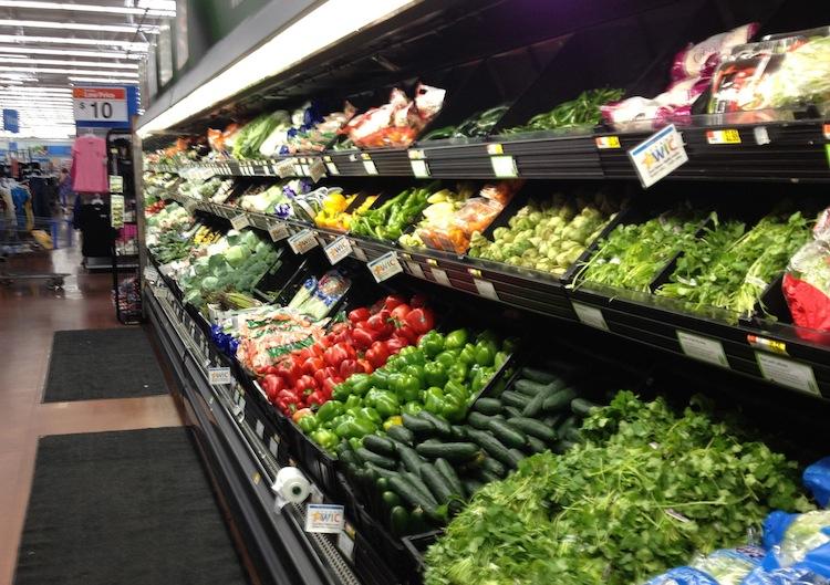 Walmart Produce Section