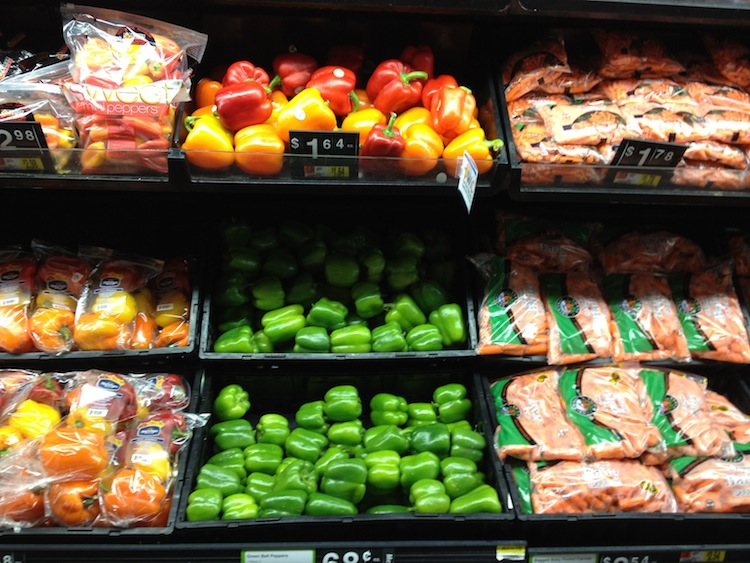 Real Food at Walmart – Fruits and Vegetables